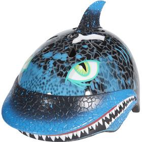 C-Preme Raskullz - Casco de bicicleta Niños - Shark Attax azul/negro